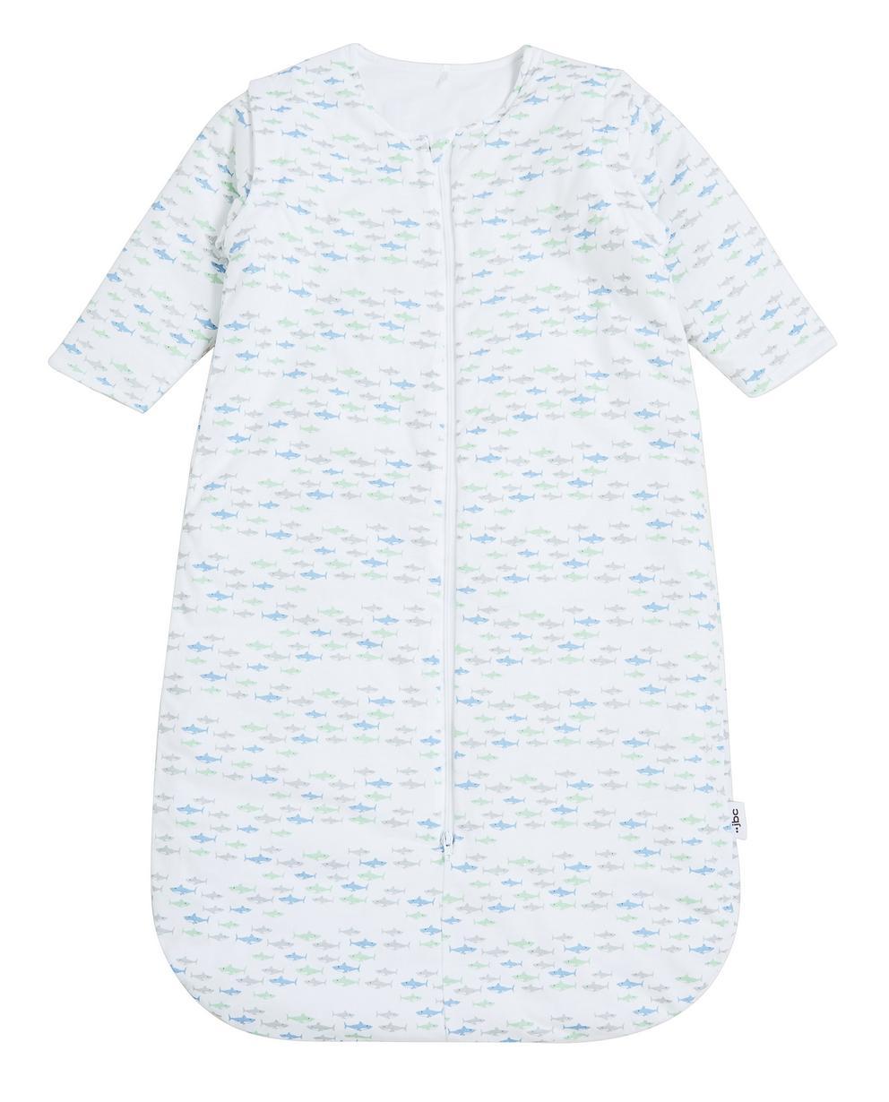 Sac de couchage crème - imprimé intégral de requins - JBC. Accessoires pour  bébés ... 614c1b8b53f